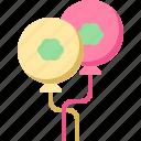 balloons, celebration, clover, decoration, patrick, shamrock, st