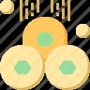 clover, coins, day, gold, patrick, shamrock, st