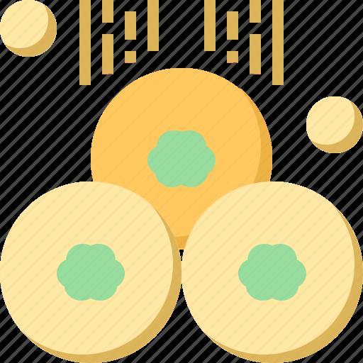 Clover, coins, day, gold, patrick, shamrock, st icon - Download on Iconfinder