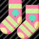 clover, day, patrick, shamrock, socks, st
