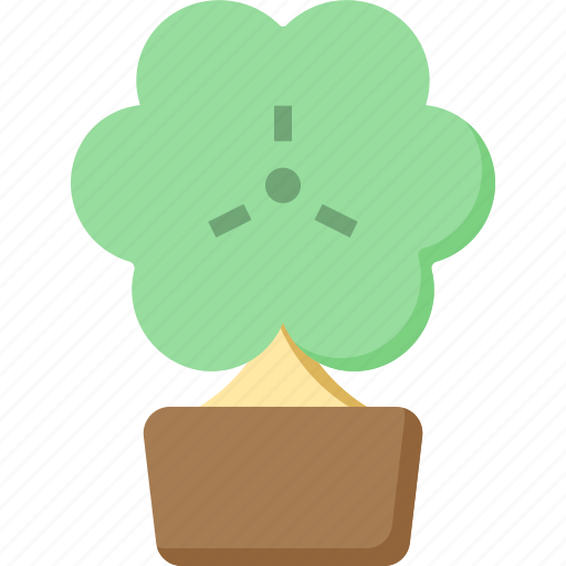 Clover, day, luck, patrick, shamrock, st, tree icon - Download on Iconfinder