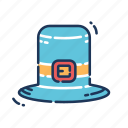 cap, fashion, hat, leprechaun icon