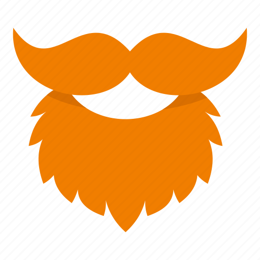 leprechaun mask template - beard holiday irish leprechaun mustache patrick