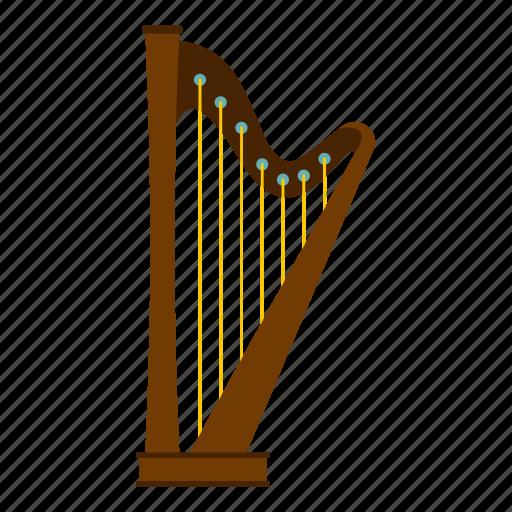 day, harp, irish, leaf, music, patrick, shamrock icon