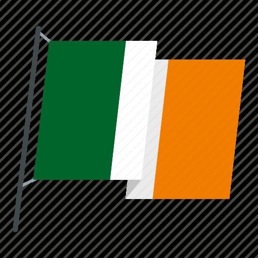 country, flag, holiday, ireland, irish, national, patrick icon