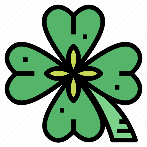 clover, good, leaf, luck, plant icon