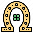 good, horseshoe, luck, ornamental, western icon