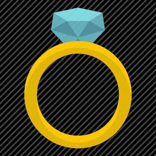 diamond, engagement, love, ring, romance, valentine, wedding icon