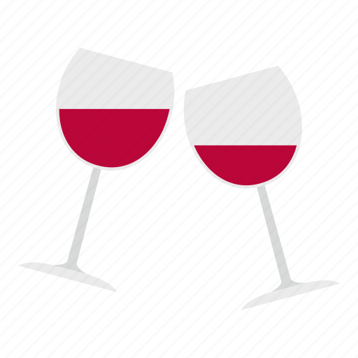 celebration, day, drink, glass, holiday, valentine, wine icon