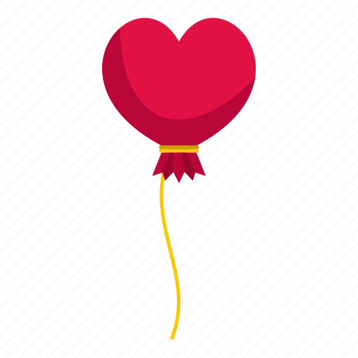Balloon, day, gift, heart, holiday, love, valentine icon - Download on Iconfinder