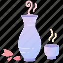 drink, japanese, liquor, sake, sakura, spring
