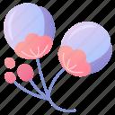 blooming, cherry blossom, flower, japanese, sakura, spring icon