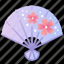 fan, japan, japanese, sakura, spring, traditional