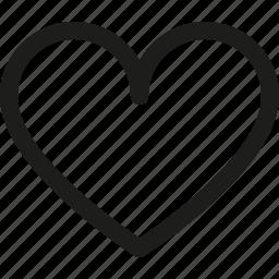 bookmark, favorite, health, heart, like, love icon