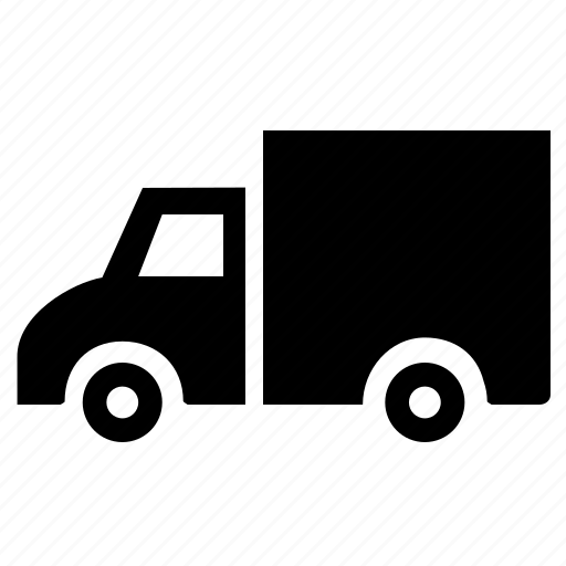 car, delivery, distribution, express, logistics, lorry, shipping, transportation, truck, van icon