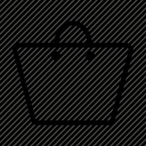 bag, basket, buy, cart, package, shopper, shopping, store icon