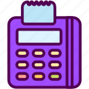 edc, machine, online, sales, shop icon