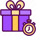 gift, limited, offer, online, sales, shop icon