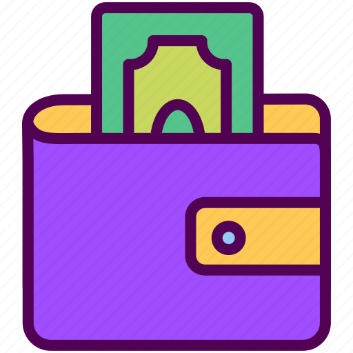money, online, pocket, sales, shop icon