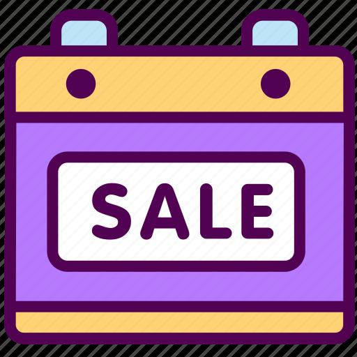 calendar, online, sale, sales, schedule, shop icon