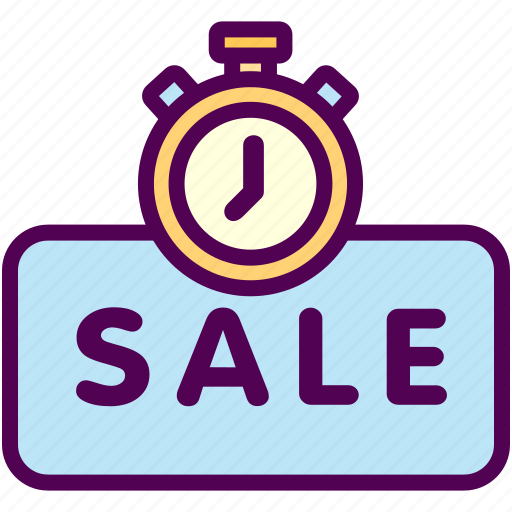 limited, online, sale, sales, shop, timer icon