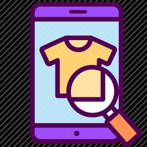 item, online, sales, search, shop icon