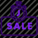 limited, online, sale, sales, shop, time icon