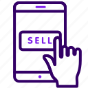 item, online, sales, sell, shop icon