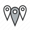 affiliate, anywhere, area, branch, branches, delivery, delivery point, department, distance, distribution, geozone, location, multiple, near, nearby, pins, points, store, zones icon
