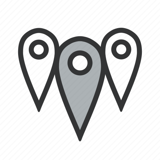 affiliate, area, branch, branches, delivery, delivery point, department, distance, distribution, geozone, location, multiple, near, nearby, pins, points, store, zones icon