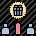 bonus, competition, gift, incentive, reward icon