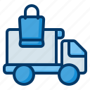 delivery, truck, transport, mover, lorry
