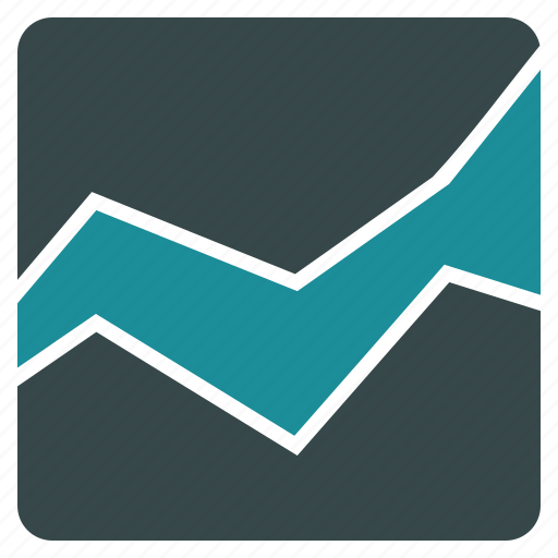 analytics, area chart, diagram, graph, infographic, report, statistics icon