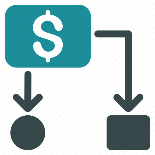 business, cash flow, cashflow, diagram, flowchart, payments, scheme icon