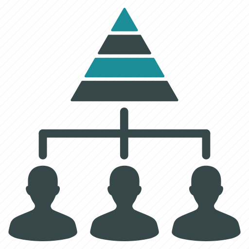 company, hierarchy, management, network, pyramid, staff, structure icon