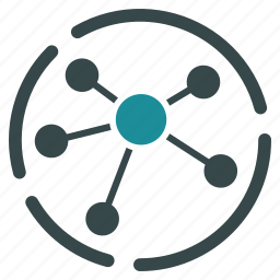 analytics, connections, diagram, links, prevalence, relations, structure icon