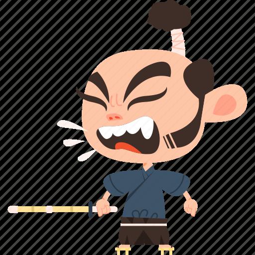 'Samurai' by Flat-icons com