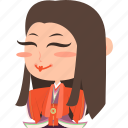 asian, avatar, character, geisha, girl, guard, japan, japanese, kimono, mascot, ninja, princess, rich, samurai, team member, woman icon