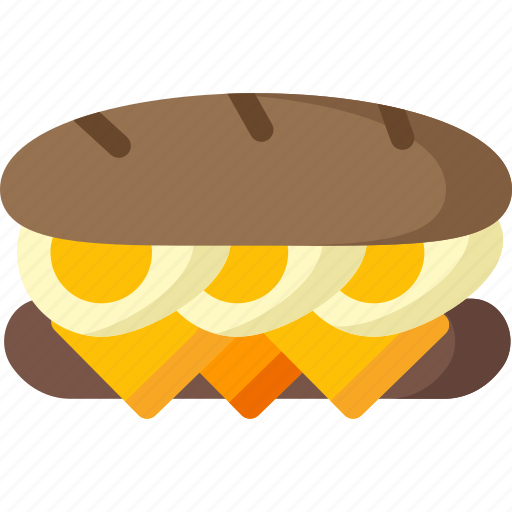 cooking, egg, food, meal, restaurant, sandwich icon