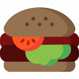burger, cheeseburger, fastfood, hamburger, junk, sandwich icon