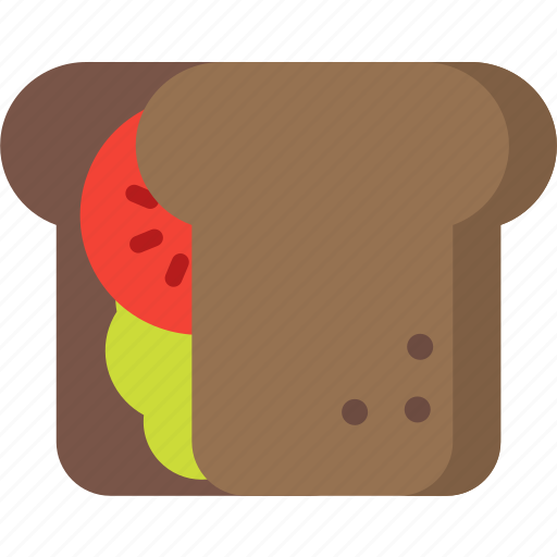 bread, breakfast, food, kitchen, restaurant, sandwich, toast icon