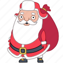 christmas, gift, holiday, new year, present, santa, xmas icon