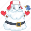 bird, christmas, holiday, santa, snow, snowman, xmas icon