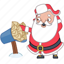 christmas, holiday, mail, mailbox, new year, santa, xmas icon
