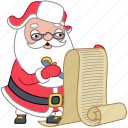 check, christmas, document, holiday, list, santa, xmas icon