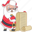 check, christmas, document, holiday, list, santa, xmas icon