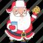 christmas, cookie, holiday, milk, santa, sweet, xmas icon