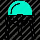 detection, explorer, position, satellite, surveying icon