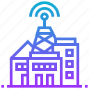 airwave, broadcasting, digital, station, transmission icon