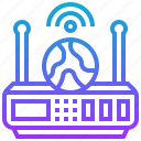 connection, global, internet, signal, wireless icon